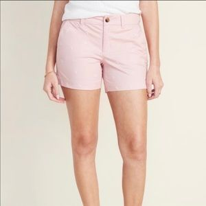 Old Navy | pink shorts with daisy embroidery